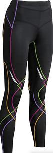 CW-X Black Mid Rise Full Length Compression Legging Women's Size XS 17001