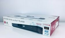 LG BD650 3D Network Blu-ray Disc Player with Smart TV (2011 Model) BRAND NEW