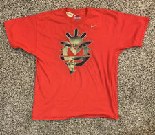 Manny Pacquiao Nike Red Mens XL Graphic Shirt MP Boxing World Title Champion