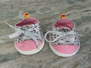 Build a Bear Hello Kitty Pink Glitter Sneakers