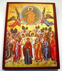 Jesus Himmelfahrt Ikone Icon Ikona Ikonen icone icono Icoon икона Ascensión