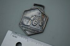 LORAIN TRUCK CRANE FRONT END WHEEL LOADER Vintage Watch Fob pewter earth mover