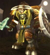 WoW LOOT CODE - Wappenrock des Furors / Tabard of Fury - gelb / yellow
