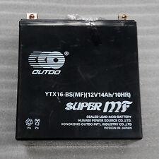YTX16-BS-1 Battery for 96-09 KAWASAKI VN1500-D E N P Vulcan Classic Mean Streak