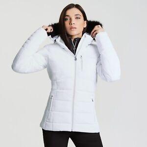 Dare2b Womens Curator White Ski Jacket Ladies NEW SIZES 12 - 16 UK