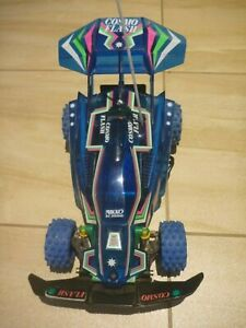 RARE VINTAGE NIKKO COSMO FLASH RC CAR & REMOTE. IN PERFECT WORKING ORDER
