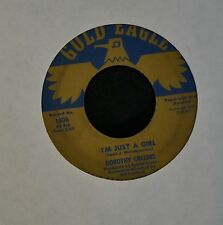 HEAR IT TEEN Dorothy Collins Gold Eagle 1806 I'm Just A Girl