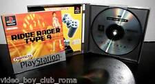 RIDGE RACER TYPE 4 GIOCO USATO PLATINUM PSX BUONO STATO ED ITA  PAL NAMCO LC1