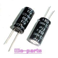 10 PCS 47UF/450V Radial Electrolytic Capacitors 16x30MM 450V 47uF 105°C