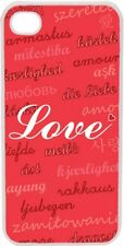Valentine's Love in Different Languages Collage iPhone 4 4s Case Cover