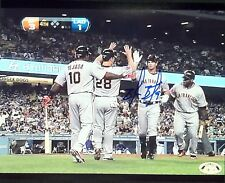 Brandon Belt signed 8x10 photo 1st HR, SF Giants, World Series Champs, All Star