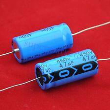 20pcs Axial Electrolytic Capacitor 47uf 450V Tube Amp hifi DIY