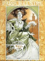 Cover Paris ILLUSTRE 1903 Poster Alphonse Mucha Poster NEW Art Picture Print