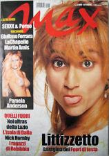 Max-'01-LUCIANA LITTIZZETTO,Pamela Anderson,Robert Downey Jr,Lucio Dalla,Eggers