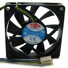 70mm x 15mm PWM 4 Wire CPU cooler fan for AMD Intel Heatsinks