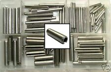 Stainless Steel Roll Pins x140, Spring tension, Sellock Pins - Mixed Size Box