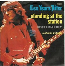 "TEN YEARS AFTER standing at the station / convention prevention 45T 7"" french"