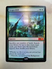 FOIL SCAPESHIFT M19 2019 CORE SET PRERELEASE PROMO CARD MAGIC THE GATHERING MTG