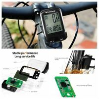 Wired/Wireless LCD Cycling Bike Computer Bicycle Speedometer Odometer Waterproof