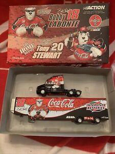 Action Brand Die Cast Coca-Cola Kenworth Racing Team Transporter Truck & Trailer