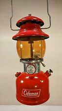 Vintage 1957 Coleman 200A 200 A Red Lantern - Appears UNFIRED! Outstanding