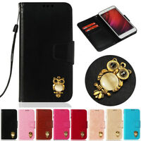 Owl Wallet Leather Flip Case Cover For Xiaomi A2 Lite Redmi 6A 5A 6 Pro Note 4X