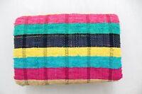 Chindi Rag Rugs Carpet Beautifull Bohemian Garden Yoga Mat Indian Kilim Covers