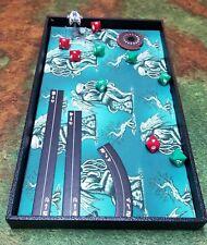 Cthulhu Thinker Green Dice Tray, Gaming Tray