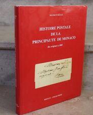 M Boule / Histoire postale de la principauté de monaco des origines a 1885