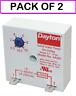 (2-PACK) DAYTON 2A561 Encapsulated Timer Relay, 10sec, 2 Pin, 1NO, 1A