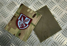 Genuine British Army MTP Blanking Patches 16th Air Assault TRF UBACS/PCS C12