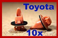 10 TOYOTA fender bumper wheel arch flare lining panel board sill fastener clips