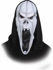 Maschere bianca in latex per carnevale e teatro, tema horror