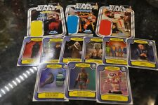 Sdcc Comic Con Star Wars Luke Skywalker, R5-D4, Snaggletooth Cardbacks & Cards