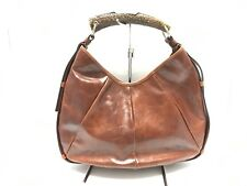 Auth Yves Saint Laurent Rivegauche (YSL) Mombasa 205118 Brown Leather