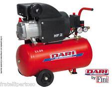 COMPRESSORE HP2 ARIA Fini  DARI SMART RC2/24 25 litri lubrificato 2 HP