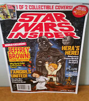 STAR WARS INSIDER MAGAZINE COLLECTABLE COVER DARTH VADER AND KIDS LUKE