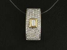 Eleganter Diamant Brillant Anhänger ca. 1,35 ct.