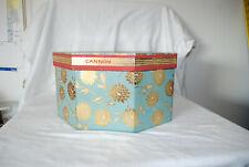 Vintage Cannon Floral Hat Box