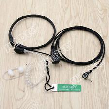 2x Throat Mic Earpiece/Headset Motorola Radio TLKR T5 T6 T7 T8 XTR 446 VOX 1Pin