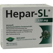 Hepar SL 320 mg capsule rigide 50 ST