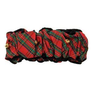 Fox & Hounds Holiday Tartan Plaid Scrunchie Costumes, Small