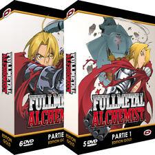 ★Fullmetal Alchemist ★ Intégrale Gold - Pack 2 Coffrets - 11 DVD