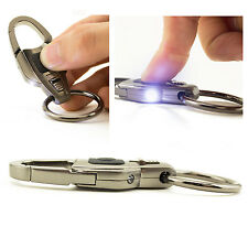 Multifunctional Bottle Opener Pocket Knife Flashlight LED Key Chain Camping Tool