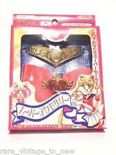 NEW Vintage Tiara & Bow Locket BANDAI JAPAN Sailor Moon Costume Compact Cosplay