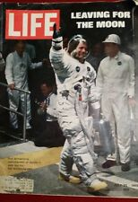 Vintage Life Magzine July 25,1969 Neil Armstrong Leaving for the Moon