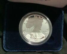 2010-W Proof American Silver Eagle 1 oz .999 Fine Silver Dollar w Box & COA