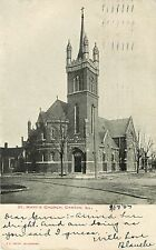 c1907 Postcard; St. Mary's Church, Canton IL Fulton County Posted Undivided back