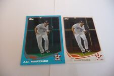 J. C. Martinez Astros 2013 topps blue slate & base card #377 mint