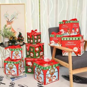 Stacking Boxes Gift Box Decoration Christmas Nesting Boxes Christmas Decoration